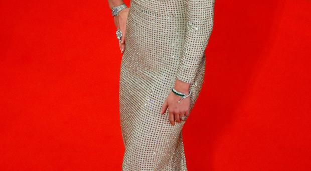 Emily Blunt attending the premiere of Sicario in Cannes last night