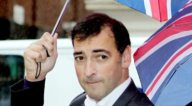 Alistair McGowan's mum has voiced fears over her son playing Jimmy Savile
