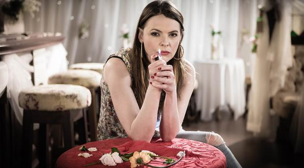 Tracy Barlow, played by Kate Ford, is involved in the latest big Coronation Street storyline (ITV/PA)
