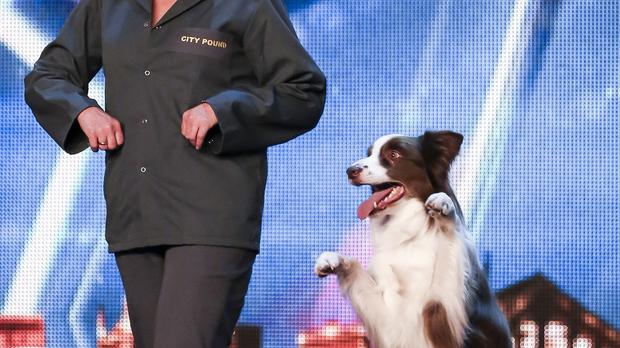 Matisse performs for the Britain's Got Talent judges