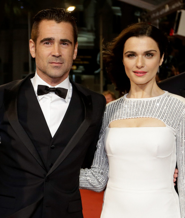 Colin Farrell and Rachel Weisz