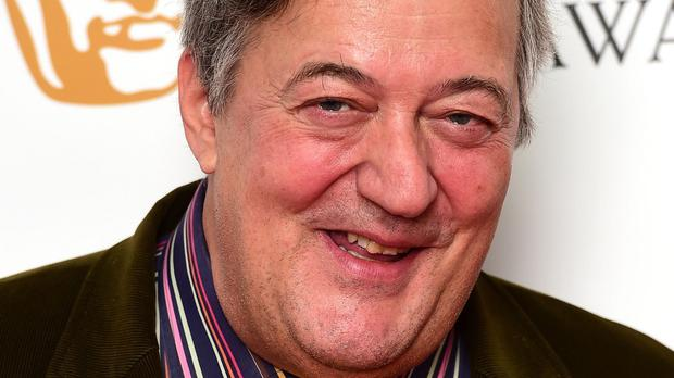 Stephen Fry is patron of the Missing People's Big Tweet campaign