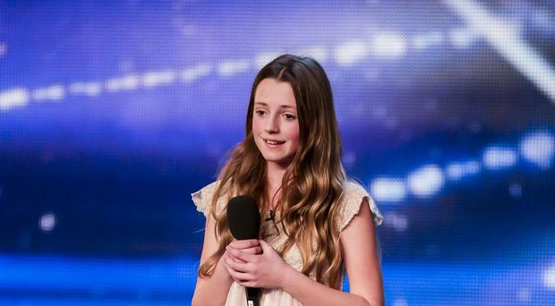 Maia Gough during the audition stage of ITV1 talent show, Britain's Got Talent (Syco/Thames TV)