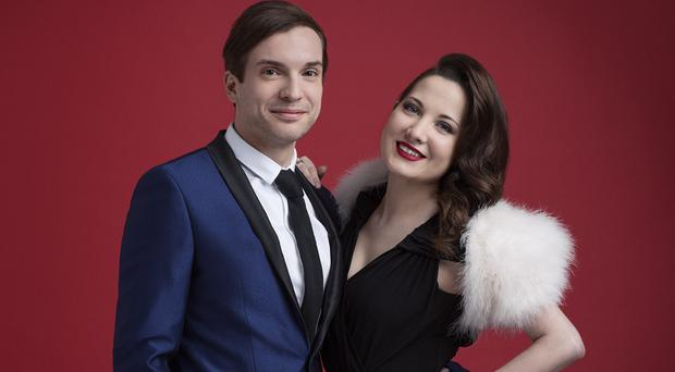 Electro Velvet's Alex Larke and Bianca Nicholas are trailing at no 53 in the charts