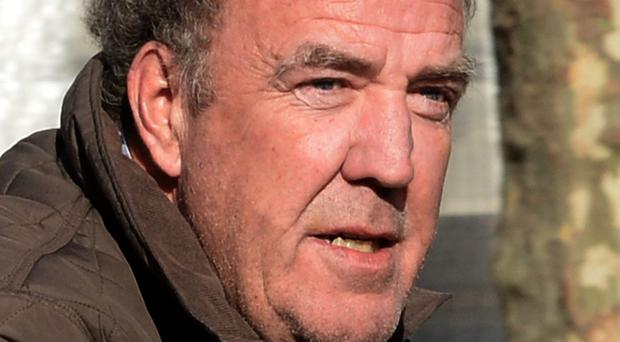 Jeremy Clarkson drove the car at the centre of the row on the Top Gear special