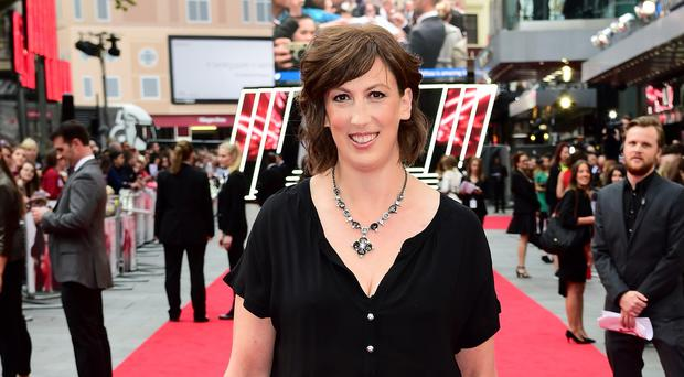 Miranda Hart attending the European premiere of Spy in London