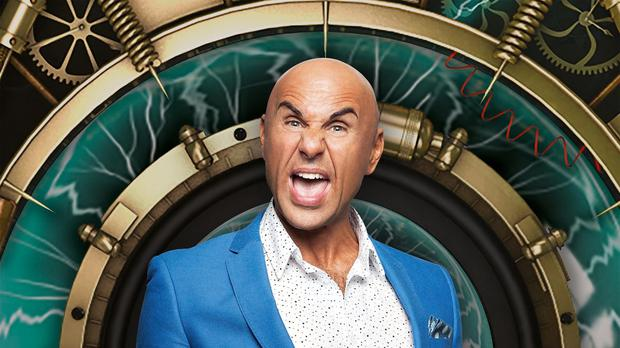 Former evicted housemate, Simon Gross, re-entered the Big Brother house