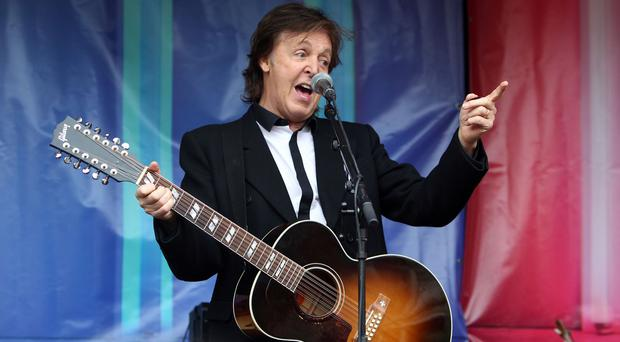 Sir Paul McCartney was reportedly first introduced to cannabis by Bob Dylan in August 1964