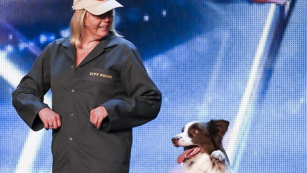 SYCO/THAMES TVITV photo of Jules O'Dwyer and Matisse, who won this year's BGT final