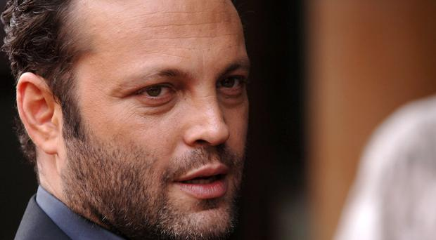 Film star Vince Vaughn has said he supports the right to own a gun in the US