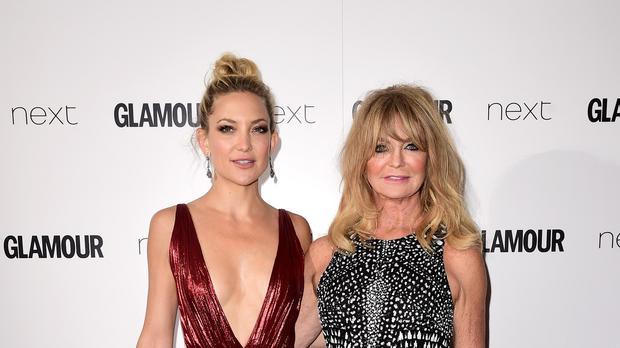 Kate Hudson and Goldie Hawn at the Glamour Women of the Year Awards 2015