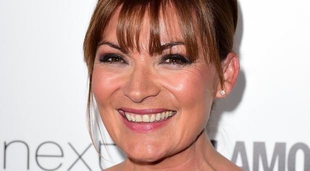 Lorraine Kelly at the Glamour Women of the Year awards at Berkeley Square Gardens, London