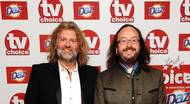 TV star Si King (left), with fellow Hairy Biker Dave Myers, who has said he would fund treatment for an Albanian illegal immigrant who was arrested after seeking treatment for a suspected brain tumour