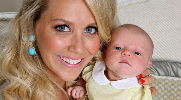 Laura Hamilton and daughter Tahlia appear in this week's edition of Hello! Magazine (Hello! Magazine/PA)