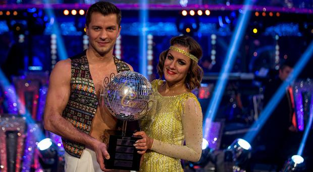Caroline Flack says she has lost the Strictly Come Dancing trophy