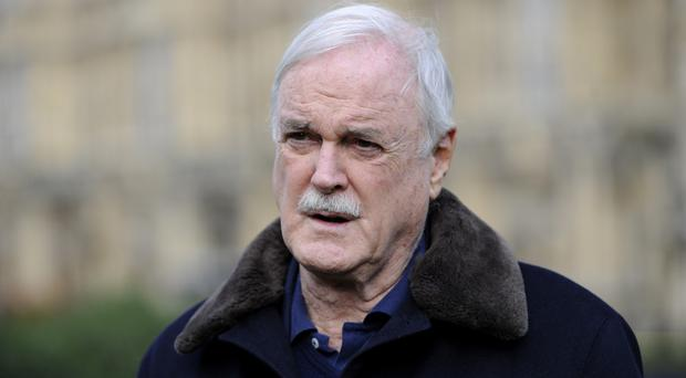 John Cleese described his online war of words with Piers Morgan as