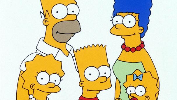 The Simpson family (2000 Fox TV for Sky One/PA)