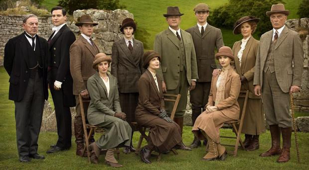 The team behind Downton Abbey will be honoured by Bafta