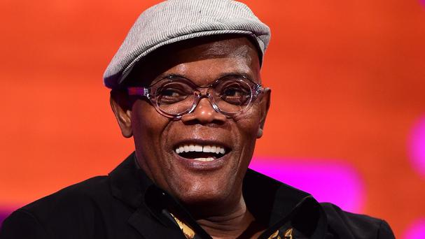 Samuel L Jackson says men should be more ready to seek help if they feel ill