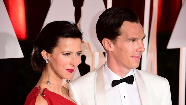 Benedict Cumberbatch and Sophie Hunter have become parents