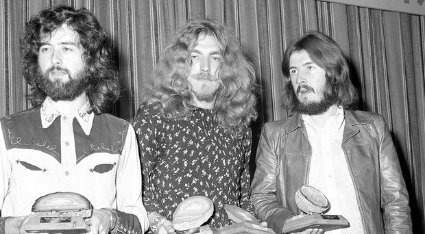 Jimmy Page, Robert Plant and John Bonham dreamt of playing their way around the world