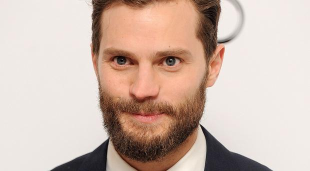 Jamie Dornan played Christian Grey in the film version of Fifty Shades Of Grey