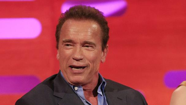 Arnold Schwarzenegger said he was 'happily surprised' to be offered the role in the latest Terminator film