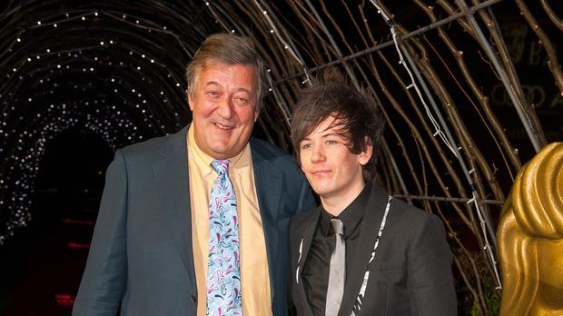 Stephen Fry and his husband Elliot Spencer