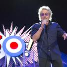 The Who's Roger Daltrey playing at the Odyssey last night