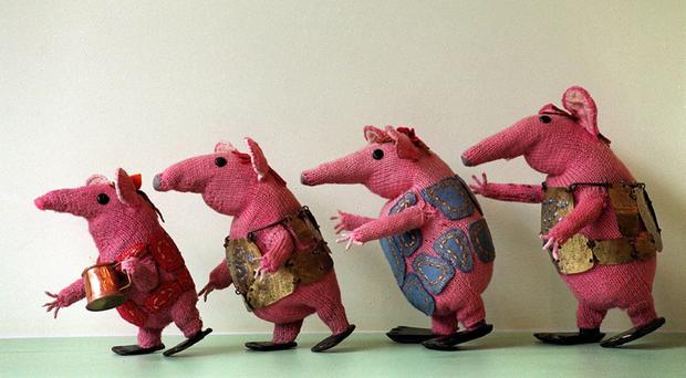 The original Clangers were knitted
