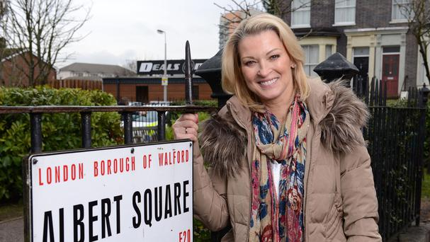 Gillian Taylforth is returning to Albert Square as Kathy Beale