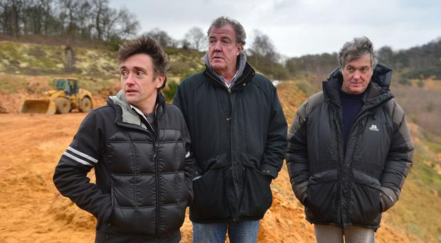 Richard Hammond, Jeremy Clarkson and James May proved to be a winning formula in the ratings for the BBC (BBC/PA Wire)