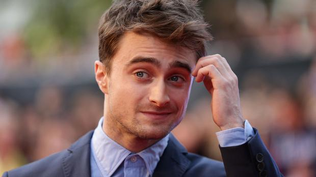 Daniel Radcliffe pipped Jamie Dornan to the number one spot in the male category