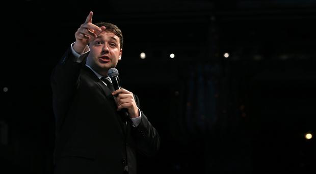 Jason Manford has been attacked on social media by far-right group Britain First