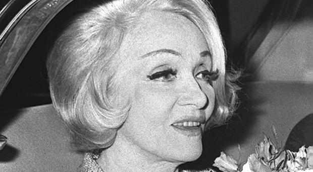 A wig belonging to Marlene Dietrich is expected to fetch between £200 and £300 at auction
