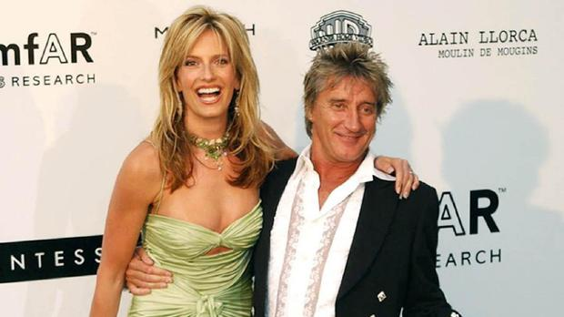 Penny Lancaster has two sons, Aiden and Alastair, with Rod Stewart