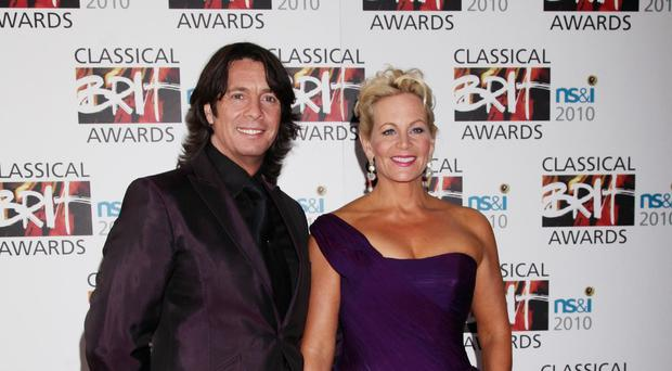 Laurence Llewelyn-Bowen and his wife Jackie
