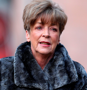 The late Anne Kirkbride