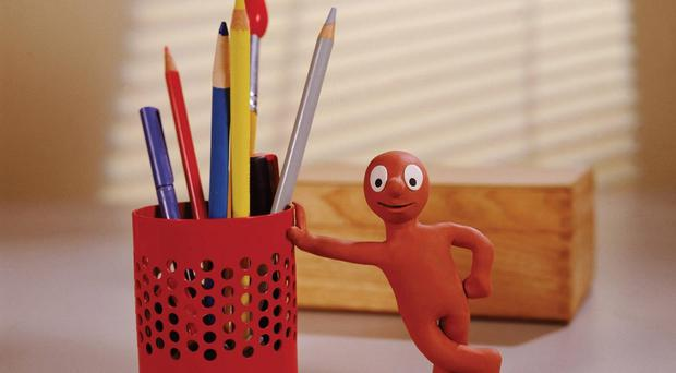 Morph made his TV debut in 1977