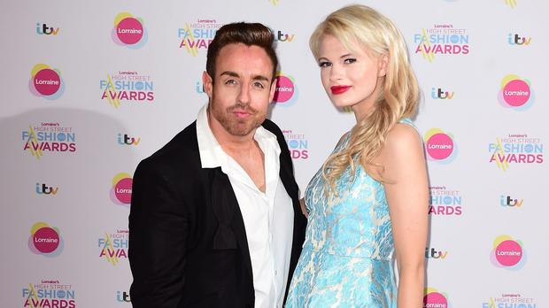 Stevi Ritchie and Chloe-Jasmine Whichello met on the talent show last year