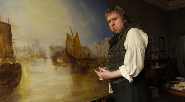 Timothy Spall in Mike Leigh's Mr Turner