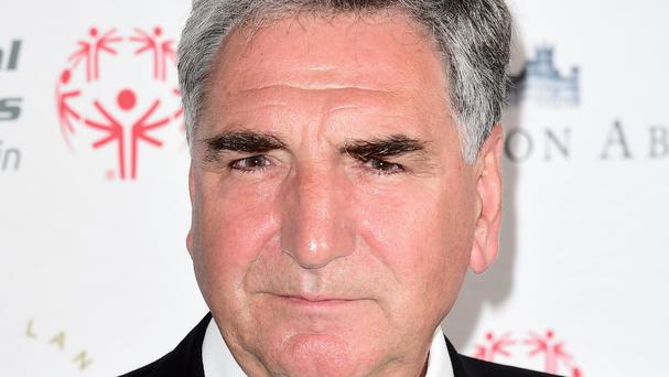 Jim Carter has been nominated for an Emmy