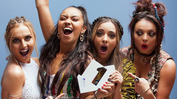 Little Mix are number one again