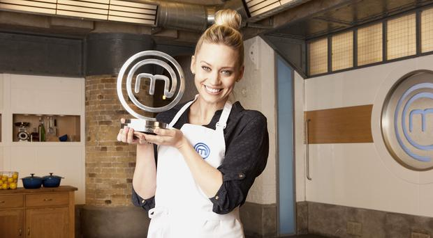 Kimberly Wyatt was named winner of this year's Celebrity MasterChef.