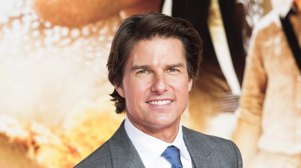 Tom Cruise attends the premiere at a cinema in London