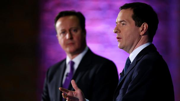 David Cameron and George Osborne announced the venture at the Old Granada Studios which will be the site of The Factory