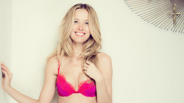 Petra Nemcova shows off new Ultimo lingerie