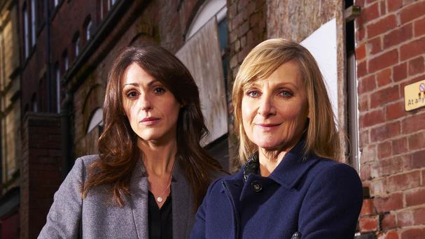Scott and Bailey, starring Suranne Jones and Lesley Sharp, is returning to screens (ITV/PA)