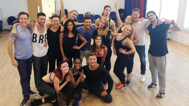 There are three new professional dancers joining this year's Strictly Come Dancing line-up