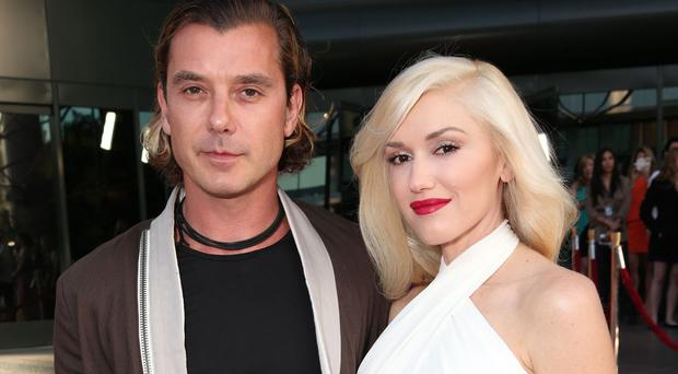 Gavin Rossdale and Gwen Stefani have been married for nearly 13 years and have three sons (AP)